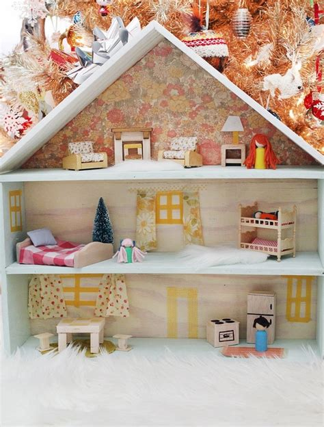 how to build a wooden doll house awesome diy dollhouse ideas the best toy for girls ever