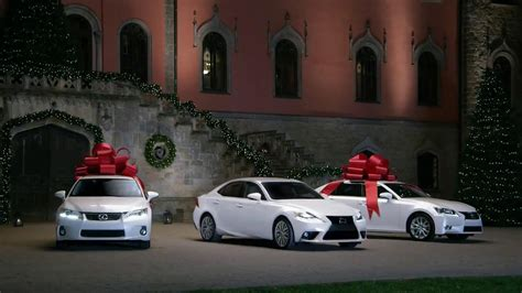 lexus christmas lexus december to remember tv commercial bow precision