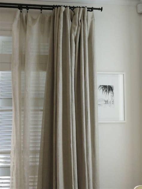restoration hardware curtain restoration hardware belgium curtains style home
