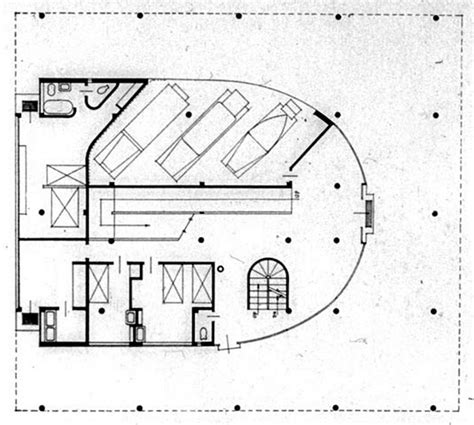 ground floor plan le corbusier villa savoye part 1 history