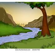 Cartoon River Stock Photos Images &amp Pictures  Shutterstock