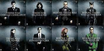 Brand new posters for the second season of gotham have been spotted at