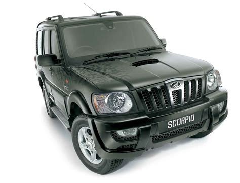 indian car mahindra scorpio images wallpapers snaps pictures