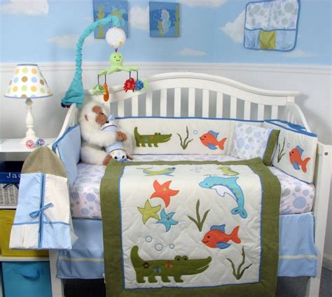 Underwater Crib Bedding 20 Best Images About Bedroom On Kid Underwater And Tropical Fish