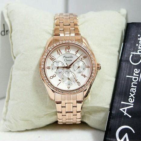 Jam Tangan Alexandre Christie Digital jam tangan alexandre christie ac 2497 wanita gold