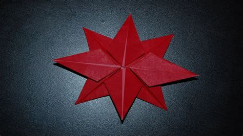 Origami Poinsettia - origami poinsettia for 종이접기 포인세티아 접는 방법