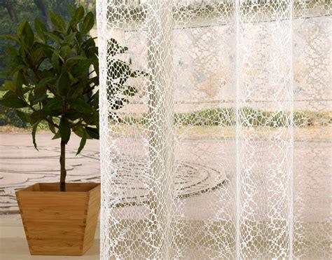 vorhänge netzoptik gardine netz struktur mit 214 sen einfarbig transparent 1