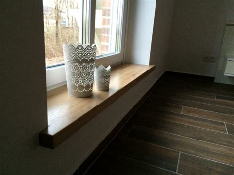 Eiche Fensterbank by 5m Living Wohnaccessoires Aus Holz
