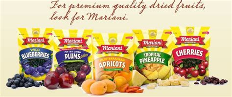 mariani prunes pitted dried plums 283g in