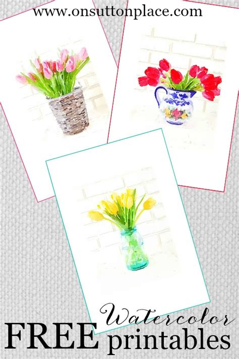 free printable diy postcards spring printables on sutton place