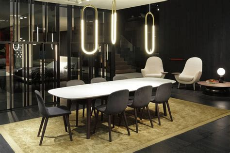 Contemporary Dining Room Furniture Mad Dining Table Poliform Tables