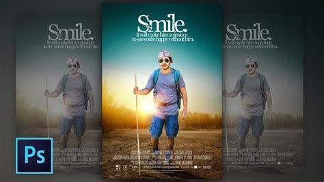 photoshop poster design youtube photoshop tutorial photo manipulation movie poster