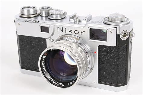 Nikon Vintage by Vintage Nikon S2 Aluminium 50mm F1 4 Lens Only 300 Copies Of The Lens Were Made