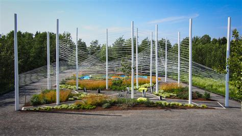International Garden by 15th International Garden Festival At Jardins De Metis In