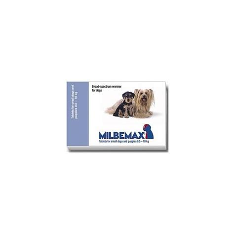 dewormer pills milbemax 174 small from 0 5 to 5kg dewormer 1 pill tataluga
