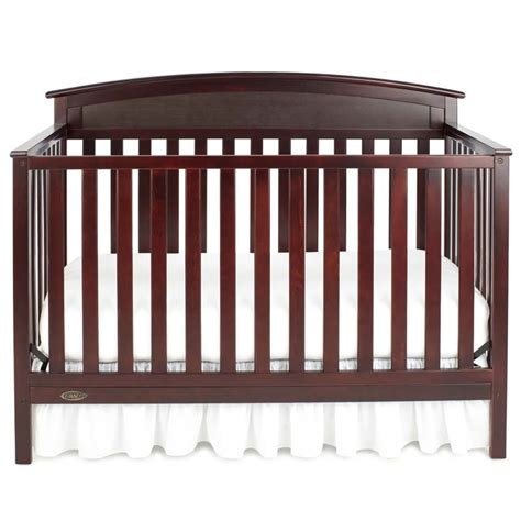 Graco Benton 5 In 1 Convertible Crib In Espresso 04530 219 Graco Espresso Convertible Crib