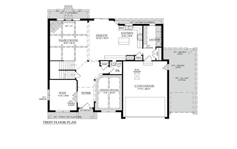 100 keystone homes floor plans siesta floor plan in