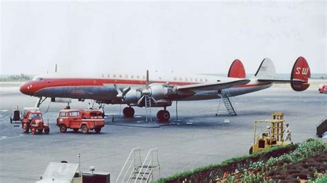 seaboard western lockheed   super constellation