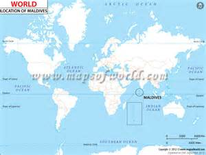 Maldives On World Map by Maldives Map Outravelling Maps Guide