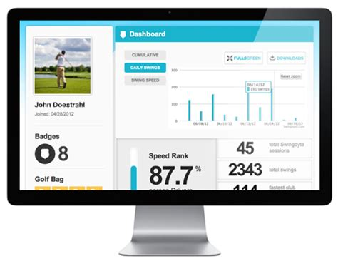 swingbyte pro swings mobile golf swing analysis on your phone or tablet swingbyte