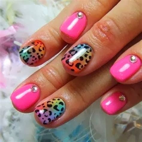 imagenes uñas decoradas de moda u 241 as decoradas con colores de moda imagui