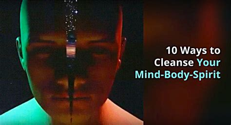 Detox Total Mind And Spirit by 10 Ways To Cleanse Your Mind Spirit The Quantum Healing