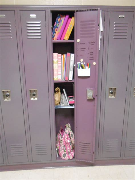 diy with emily keep your locker organized eagleview news