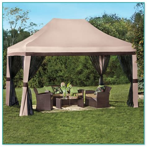 gazebo portatile portable gazebo with screen