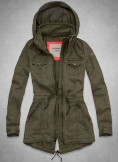 Jaket Parka Twill Polka Hoodie american eagle green anorak 89 95 ahhh i saw this at the