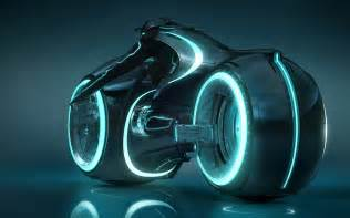 someone built a fully functioning tron light cycle scifi