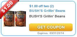 eversave printable grocery coupons 00 off two 2 bush s grillin beans coupons pinterest