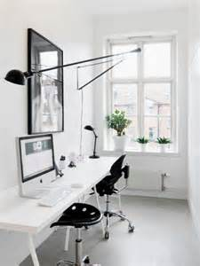 white home office desk minimalistand small home office ideas