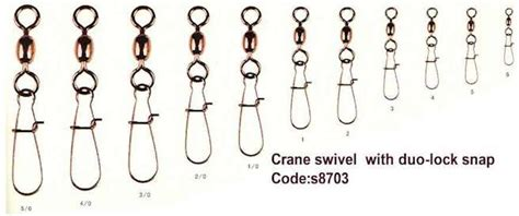 Rodford Hook On Snap Size 3 35 Kg Qty 8 Pcs swivel with snap hook crane swivels with b snap or