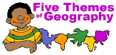 5 themes of geography illustration five themes of geography free geography presentations
