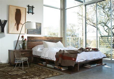 cozy industrial bedroom designs