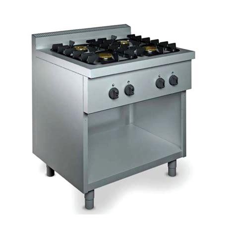 cucine gas professionali cucina professionale 4 fuochi gas 18 kw