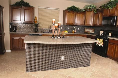 Kitchen Countertops Las Vegas by Granite Kitchen Coutertops With Mosaic Backsplash