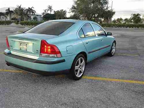 2004 volvo s60 manual sell used 2004 volvo s60 r awd manual 6 speed florida car