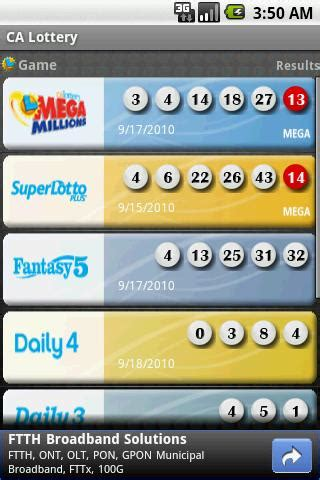 lottery post android us android california lottery results best us android apps