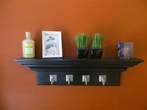 Black Crown Molding Shelf by Custom Made 30 Quot Black Crown Molding Floating Wall Shelf