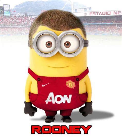 Football Minions Arsenal rooney minion football players football