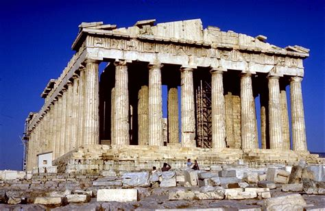 parthenon by iktinos and kallikrates on the acropolis athens 447 438 b c e history