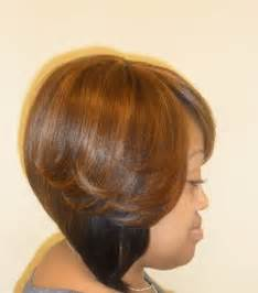 layered bob sew in hairstyles for black for black sew in hairstyles