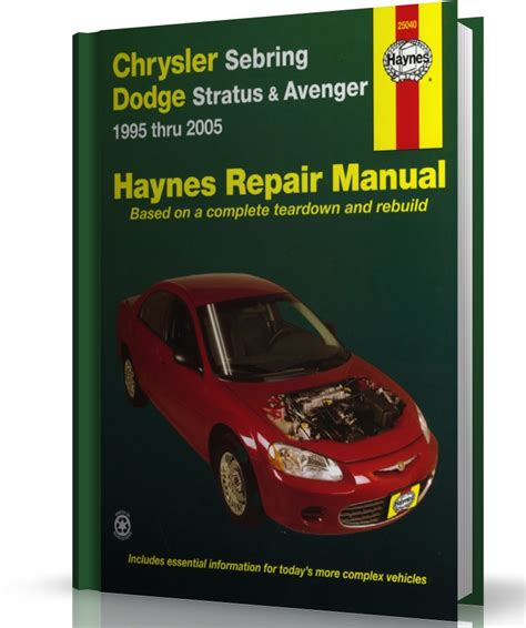 car repair manuals online pdf 1995 chrysler sebring navigation system service manual chrysler sebring dodge stratus avenger 1995 thru 2006 haynes repair manual by