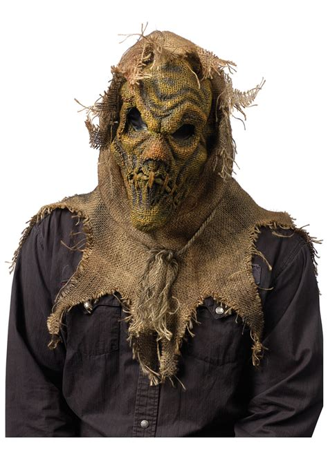 Scariest Halloween Masks Scary Scarecrow Mask