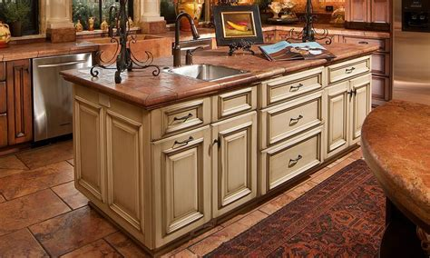 portable kitchen island with sink light cherry kitchen cabinets island butcher block