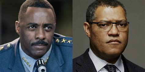 laurence fishburne and idris elba look to team up for the movie news wrap up the alchemist robin hood origins