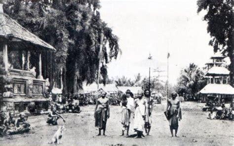 sejarah tato di bali sejarah bali masa penjajahan belanda info sejarah bali