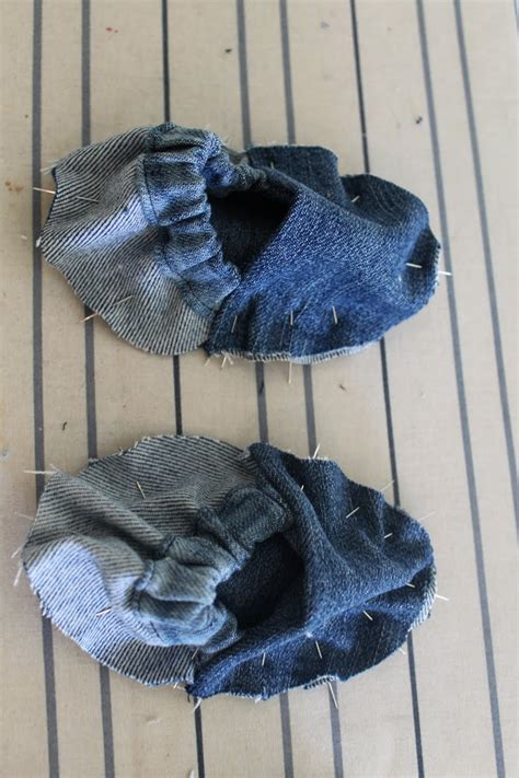 diy denim shoes diy baby shoes recycled from pretty prudent