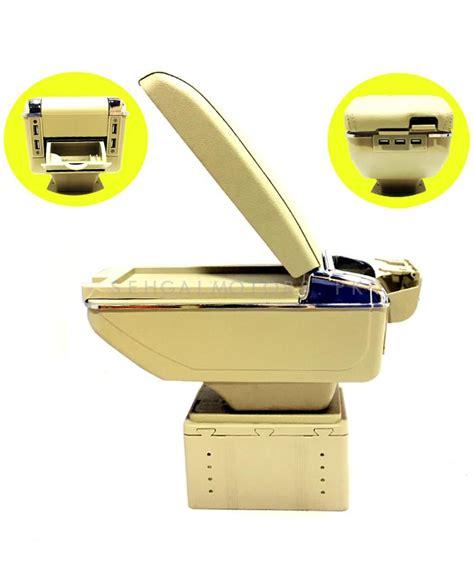 Console Box Armrest Arm Rest 7 Usb 7usb Luxury Kia Timor buy universal arm rest 6 usb beige chrome in pakistan